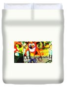 Crash Bandicoot Duvet Cover