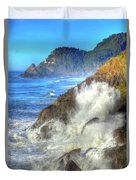 Crashing Waves 100 Duvet Cover