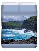 Crashing Waves - Nakalele Point  Duvet Cover
