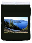 Crater Lake 12 Duvet Cover