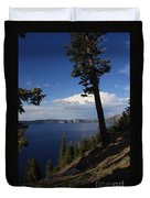 Crater Lake 7 Duvet Cover