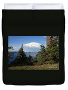 Crater Lake 8 Duvet Cover