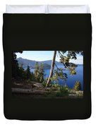 Crater Lake 9 Duvet Cover