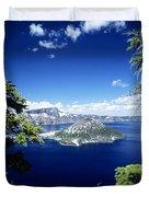 Crater Lake Duvet Cover