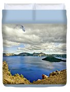 Crater Lake I Duvet Cover