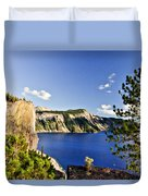Crater Lake II Duvet Cover