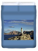 Crater Lake In The Southern Cascades Of Oregon Duvet Cover