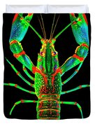 Crawfish In The Dark - Orivibsat Duvet Cover