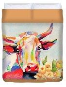 Crazy Cow Duvet Cover
