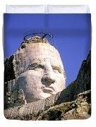 Crazy Horse In Progress II Duvet Cover