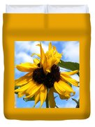 Crazy Sunflower Look Duvet Cover