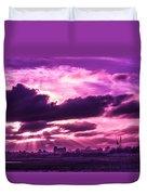 Crazy Sunset  Duvet Cover