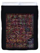Crazynumbers Duvet Cover