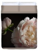 Cream And Pink Duvet Cover