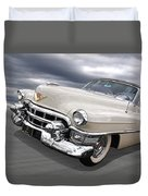 Cream Of The Crop - '53 Cadillac Duvet Cover