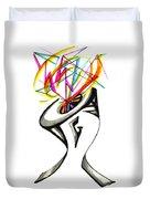 Creative Mind Duvet Cover