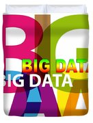 Creative Title - Big Data Duvet Cover