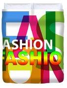 Creative Title - Fashion Duvet Cover