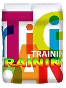 Creative Title - Training Duvet Cover
