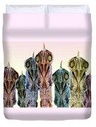Creature Feature Duvet Cover