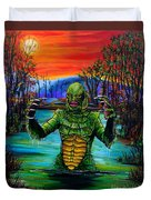Creature From The Black Lagoon Duvet Cover