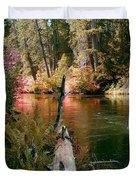 Creek Fall Duvet Cover