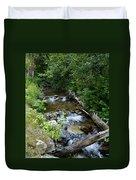 Creek On Mt. Spokane 1 Duvet Cover