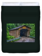 Creek Road Bridge Duvet Cover