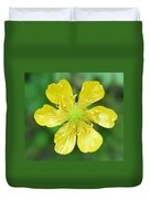 Creeping Buttercup Duvet Cover