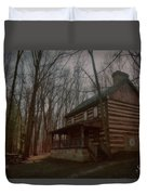 Creepy Cabin Duvet Cover