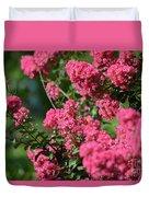 Crepe Myrtle Blossoms 2 Duvet Cover