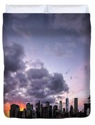 Crepsucular Nights Duvet Cover