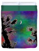 Crescent And Palms 2 Duvet Cover