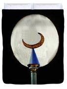 Crescent Full Moon Duvet Cover