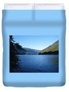 Crescent Lake, Washington Duvet Cover