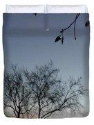 Crescent Moon  Duvet Cover