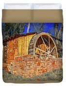 Crescent Moon Ranch Water Wheel Duvet Cover