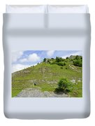 Cressbrook Dale Opposite To Tansley Dale Duvet Cover