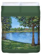 Crest Lake Park Duvet Cover