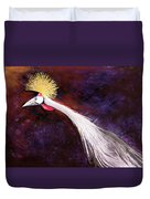 Crested Bird Duvet Cover