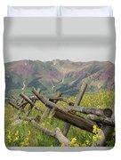Crested Butte Color Duvet Cover