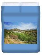 Crete Olive Grove Duvet Cover