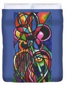 Creve Coeur Streetlight Banners Whimsical Motion 19 Duvet Cover
