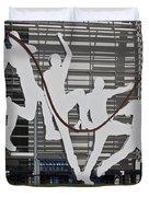 Cricket Art Sculpture Southampton Duvet Cover