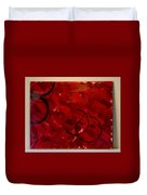 Crimson Duvet Cover