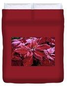 Crimson Joy Duvet Cover