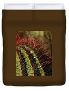 Crimson Thorns 2 Duvet Cover