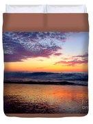 Crimson Wave Art 2 Duvet Cover