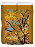 Crisp Autumn Day Duvet Cover