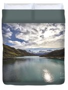 Crisped Lake Duvet Cover